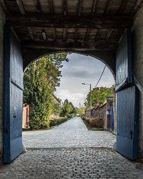 Blick durch das Kloster Colen-Borgloon (B) von Martine Dignef