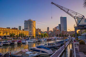 Rotterdamer Hafen von Fred Leeflang