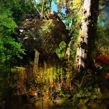Aporia IV (nature calls) van Elwin Staal