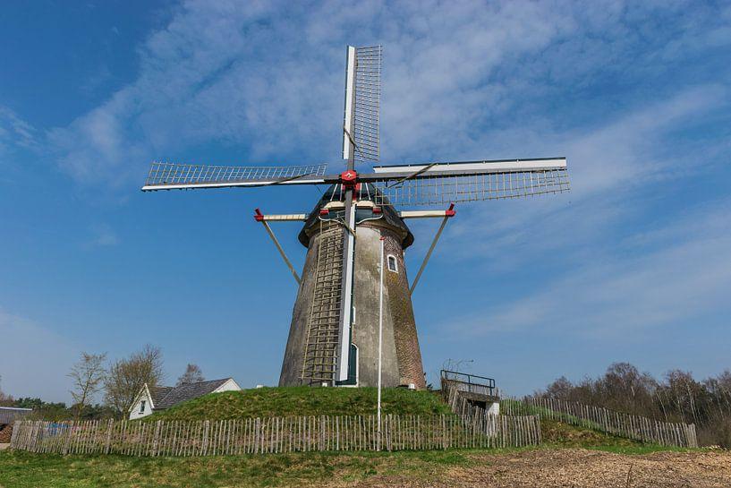 Mooie Nederlandse windmolen van Patrick Verhoef