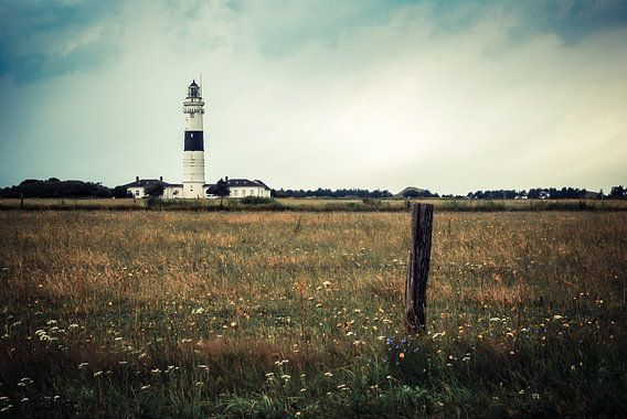 Leuchtturm von Kampen van Hannes Cmarits