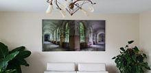 Kundenfoto: Grüner Korridor von Perry Wiertz, auf acrylglas