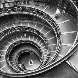 Wendeltreppe Vatican von Marcel van Balken