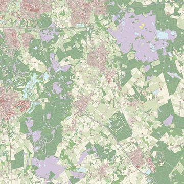 Kaart vanHeeze-Leende