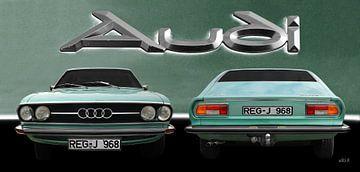 Audi 100 Coupé S van aRi F. Huber