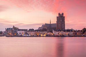 Zonsopkomst bij Dordrecht van
