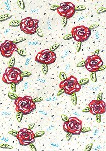 Al deze rozen zijn voor jou