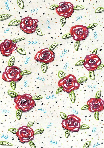 Al deze rozen zijn voor jou van Eva van den Hamsvoort