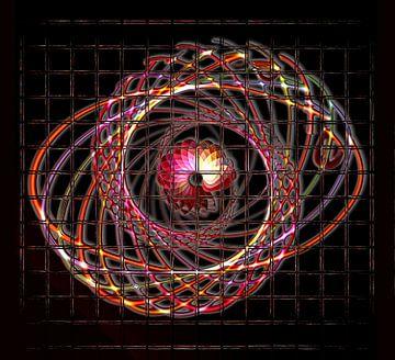 Illuminated helix #1 van Leopold Brix