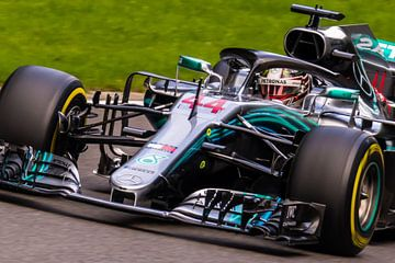 Lewis Hamilton sur