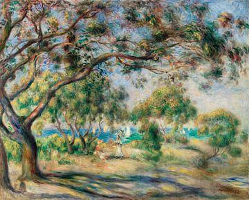 Bois de la Chaise (Landschaft), Pierre-Auguste Renoir (1892) von Atelier Liesjes