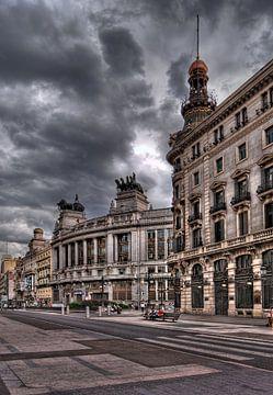 Calle de Alcala Madrid van André Scherpenberg