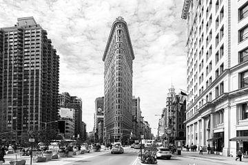 Le bâtiment Flatiron de New York sur René Schotanus