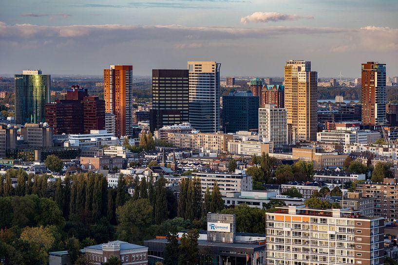 Binnenstad van Rotterdam van Ronne Vinkx