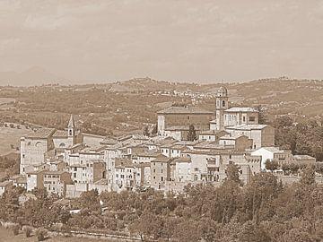 Montottone Le Marche Italie  van Elfriede de Jonge Boeree
