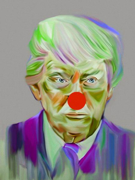 Welcome Mr. President Donald Trump Pop Art PUR van Felix von Altersheim