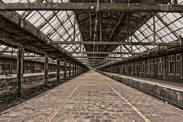 Verlassene Station von Ans Bastiaanssen