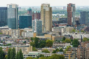 Skyline Rotterdam II van Mister Moret Photography