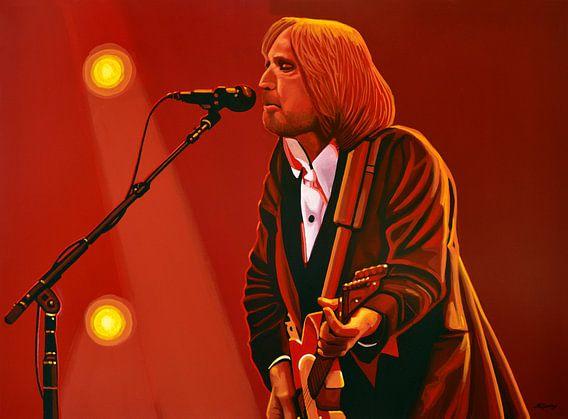 Tom Petty Schilderij van Paul Meijering