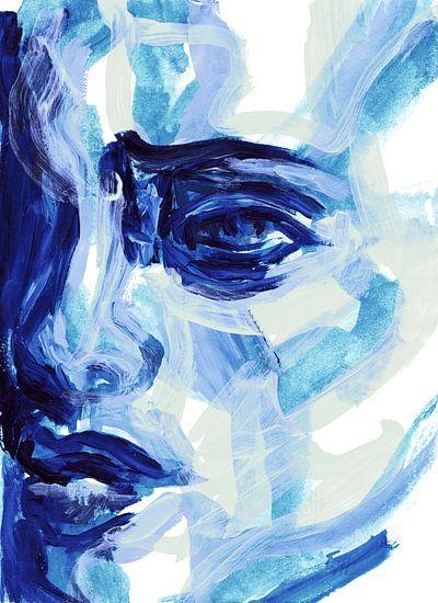 Blauw, blauw, ik hou van jou van Eva van den Hamsvoort