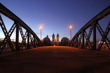 Wiwilibrücke Freiburg von