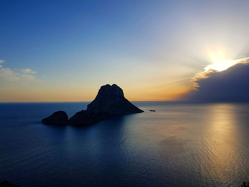 Es Vedra Ibiza, feeling blue van Danielle Bosschaart