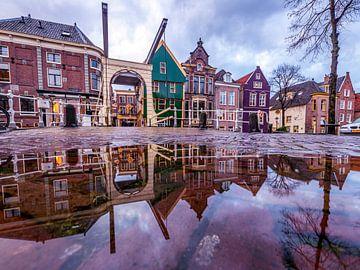 Altstadt im Spiegelbild von peterheinspictures
