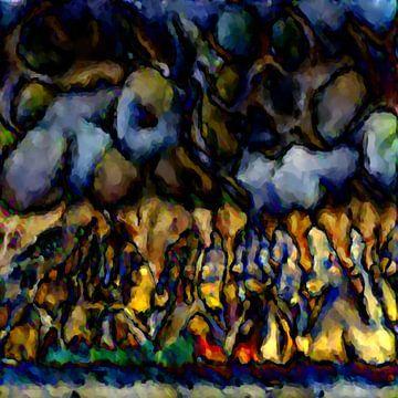 Abstrakte Inspiration XXXXIII von Maurice Dawson