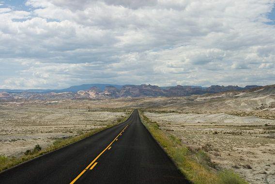 Autoweg in de Verenigde Staten van Helga Kuiper