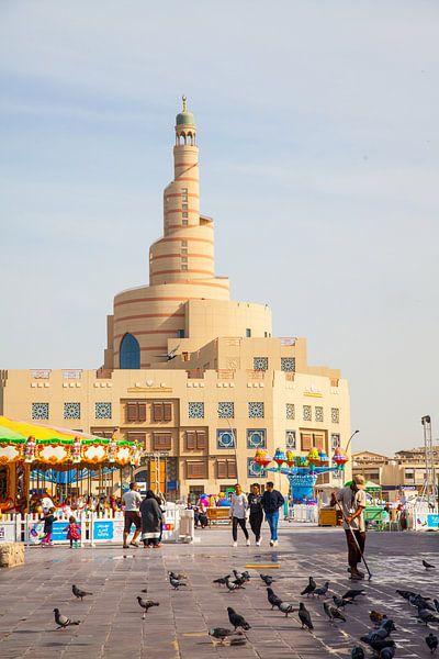 Spiral-Minarett, Doha, Katar van Jan Schuler