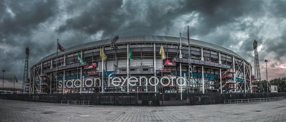 de Kuip (stadion Feyenoord) van Rene Ladenius