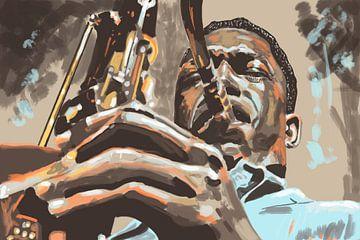 John Coltrane van Bert-Jan de Wagenaar