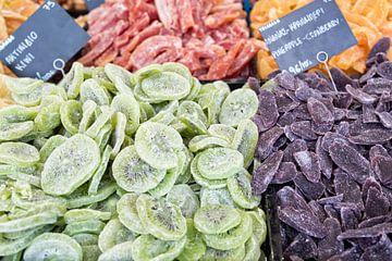 Fruits séchés à vendre en Grèce