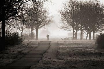 misty morning von Dirk van Egmond