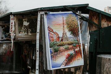 Bouquiniste langs de Seine in Parijs | Kleurrijke reisfotografie van Trix Leeflang