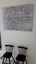 Kundenfoto: Piet Mondriaan No. 11, auf alu-dibond