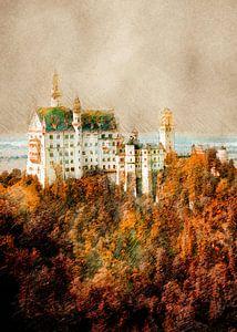 Deutschland Schwangau Landschaft #Deutschland von JBJart Justyna Jaszke