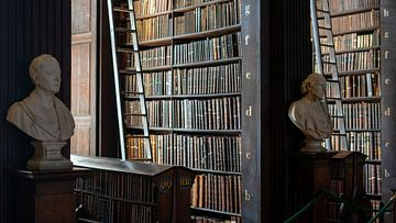 Bibliothek des Trinity College von Terry De roode