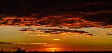Sunset 1 van Jurgen Hermse
