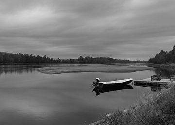 Boot op het water van eric joosten