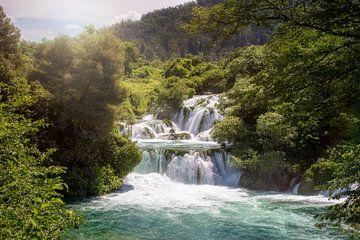 schöner Wasserfall von Kristof Ven