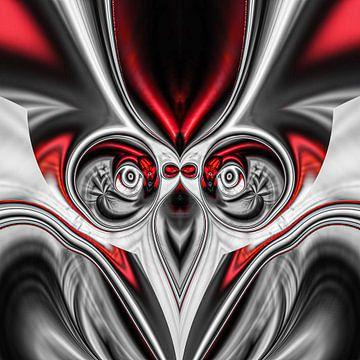 Fantasierijke abstracte twirlillustratie 122/5 van PICTURES MAKE MOMENTS