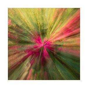 Zoom blur photography van