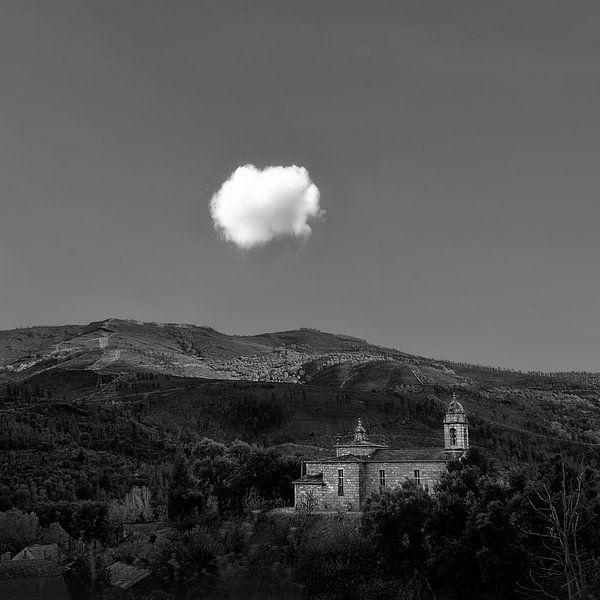 Wolk - route Santiago de Compostela van Hannie Kassenaar