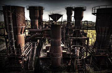 usine d'agglomération abandonnée sur Eus Driessen