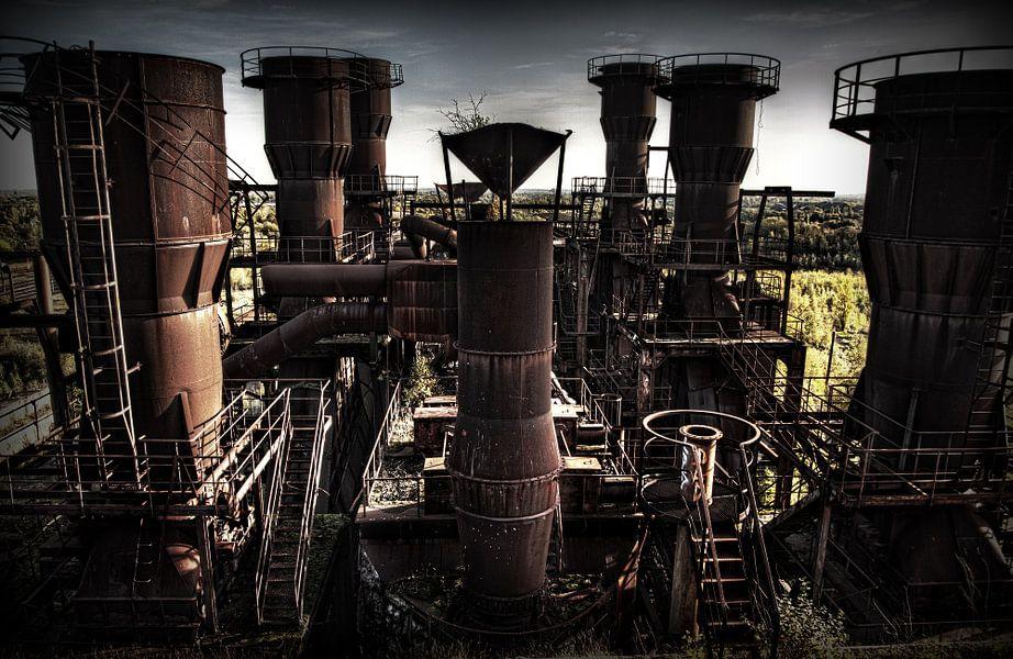 Leegstaande sinterfabriek van Eus Driessen