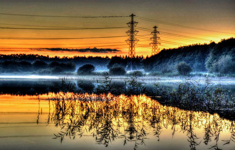 Baggelhuizerplas van Quick Fotografie