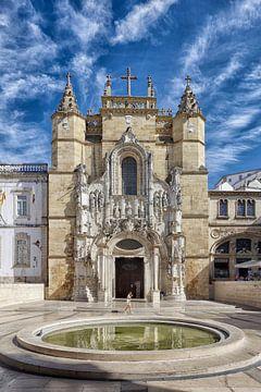 Coimbra: die Fassade der Igreja de Santa Cruz von Berthold Werner