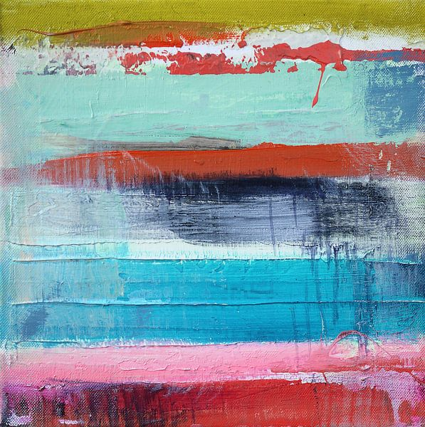 Abstract fields 1 van Atelier Paint-Ing