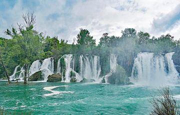 Wasserfälle bei Kravica und Bosnien-Herzegowina von Gonnie van Hove